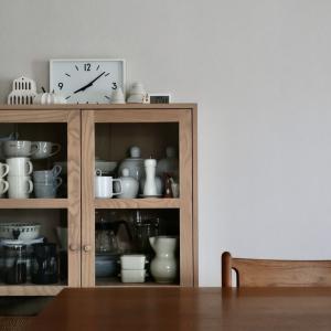 わが家の食器棚の様子 2020