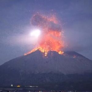 (動画) 桜島の爆発的噴火 2019/11/12