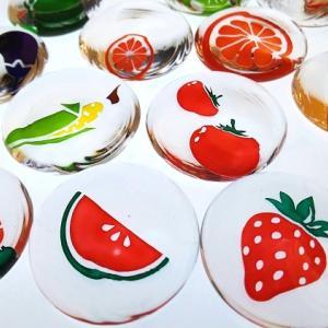 野菜とフルーツの箸置き - 完成!ヽ(^o^)丿-