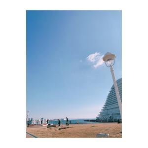 久々に神戸にきた〜うきうき#神戸#海#イマソラ