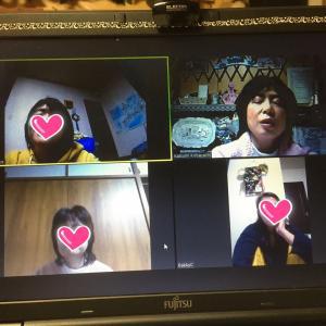 昨日のZoom宅飲み会!メンバーが○○さんだらけ(^。^)