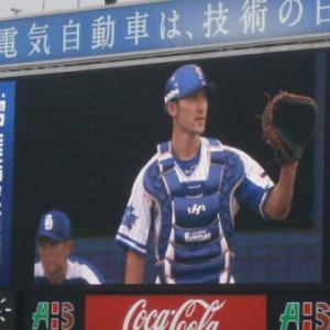 伊藤光さん山田テットの連続盗塁成功記録更新を阻止