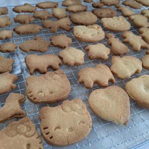 【料理】息子とクッキーづくり