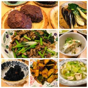 牛肉とアスパラとパクチョイの炒め物、元気に落ちて