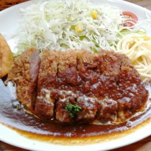 洋食みやもと@新長田駅ピフレ2階【濃いめのデミソーが美味しいです】