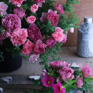 大人色のバラで彩る素敵な時間