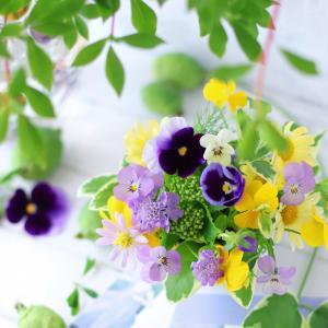 花材費0円でできるガーデンプチアレンジメント