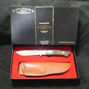 インテグラル構造のナイフ