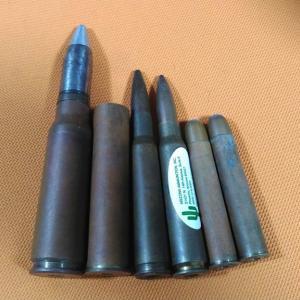 ダミー弾と薬莢をキレイに その1