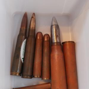 ダミー弾と薬莢をキレイに その2