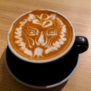お洒落カフェのラテアート@OracleCoffee神諭咖啡(台湾旅行2019.5 高雄/台南④)