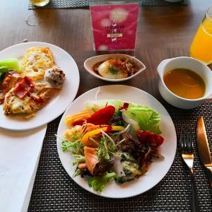Hotel Duaの朝食(台湾旅行2019.5 高雄/台南⑥)
