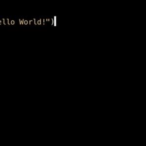 経済ニュース - 【朗報】プログラミング初心者ワイ、ついにHello worldと実行することに成功する