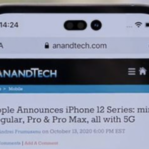 経済ニュース - 【朗報】iPhone 14、ついにノッチを廃止しダブルパンチホールディスプレイを搭載か
