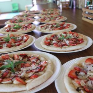 デザートピザ(*☻-☻*)