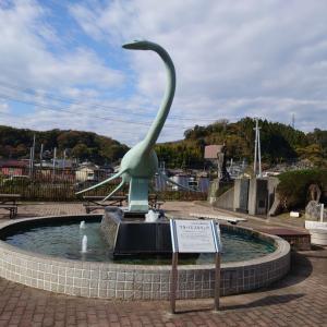 いわき市 石炭・化石館 ほるる 1 恐竜の化石など。