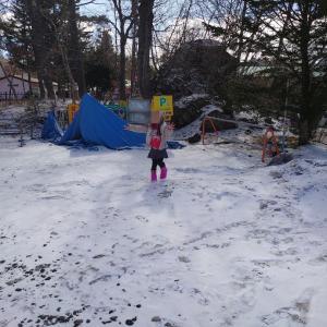 嬬恋村 軽井沢おもちゃ王国 1 雪遊びとシルバニアファミリー
