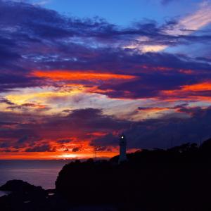 潮岬の夕景