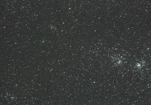 パンスターズ彗星  hχに接近
