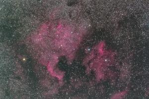 長雨にお怒り。。。北アメリカ&ペリカン星雲
