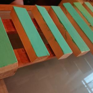 木琴を作ったよ!
