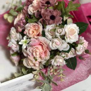 アーティフイシャルフラワーの花屋さんをサロンにオープン