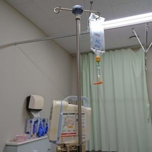 昨夜は急遽病院へ・・・