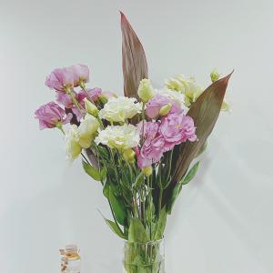 今週のお花とスーパームーン