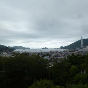 四国ツーリング【6日目】雨宿り場所を探した一日