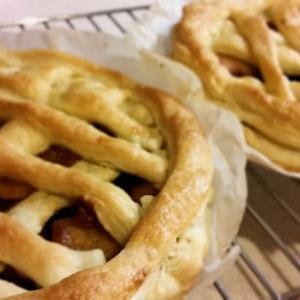 アップルパイ焼きました