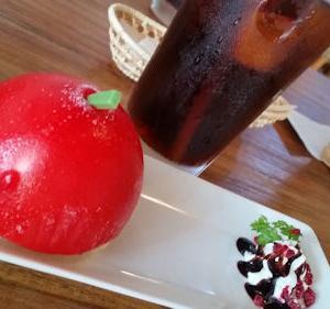 リンゴのミニバッグその1