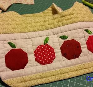 リンゴのミニバッグその2