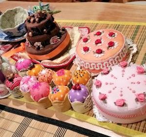 今日は私がケーキ屋さん