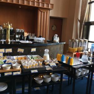 お泊まりレポ アンバサダーホテル 朝食