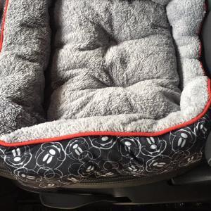 ミッキーの愛犬用ベッドの値段に驚き!