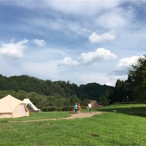 汗だく夏キャンプ カントリーパーク大川に行ってきた。