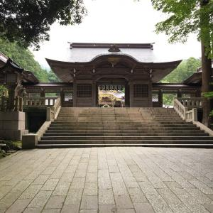 夫婦で日本一周 新潟 弥彦神社