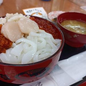 夫婦で日本一周 樺太食堂の五色丼と稚内の波除ドーム
