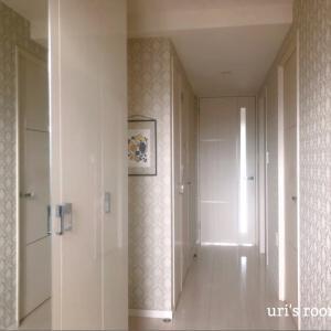 狭いマンション玄関!けれどこの空間を楽しみたい!