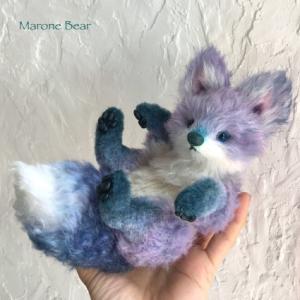 紫陽花狐ちゃん誕生しました