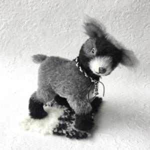 モノクロ仔山羊のピグートちゃんの完成写真