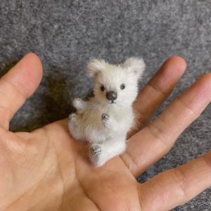 ミニチュア試作&小さなシロクマちゃん