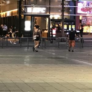 22時過ぎの歌舞伎町