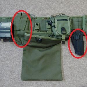 インドア戦用のタクティカルギア(ミリタリー装備品)の見直し・・・