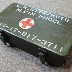 1950年代のNederland(オランダ) First aid kit(救急箱)スチール製‼