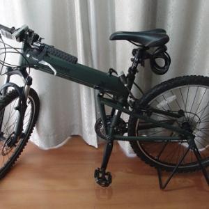 MONTAGUE (モンタギュー)  軍用折り畳み自転車 PARATROOPER 日本限定特別仕様車 JP001-ABP