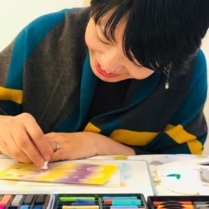 癒しとリラックス効果を学びながら体感できるパステルアート