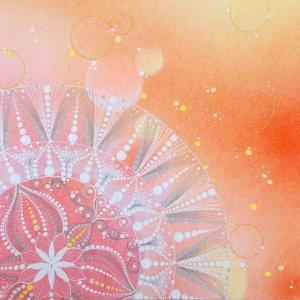 色と心のつながりから見たパステル曼荼羅アート