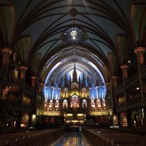 フランス ノートル・ダム大聖堂を描く 教会曼荼羅 本場フランスでお披露目