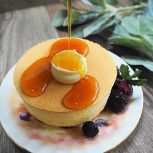 レンジで50秒の感動☆厚焼きパンケーキを手に入れよう!
